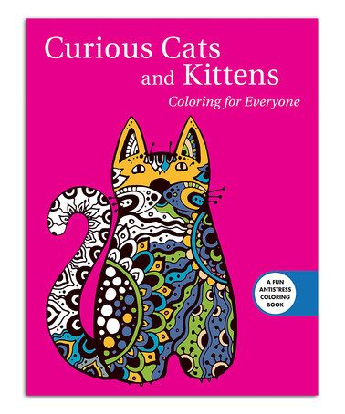 Skyhorse Publishing Curious Cats And Kittens Coloring For Everyone Book