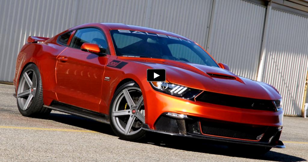 Meet The New 730hp Saleen Mustang Black Label Saleen Mustang