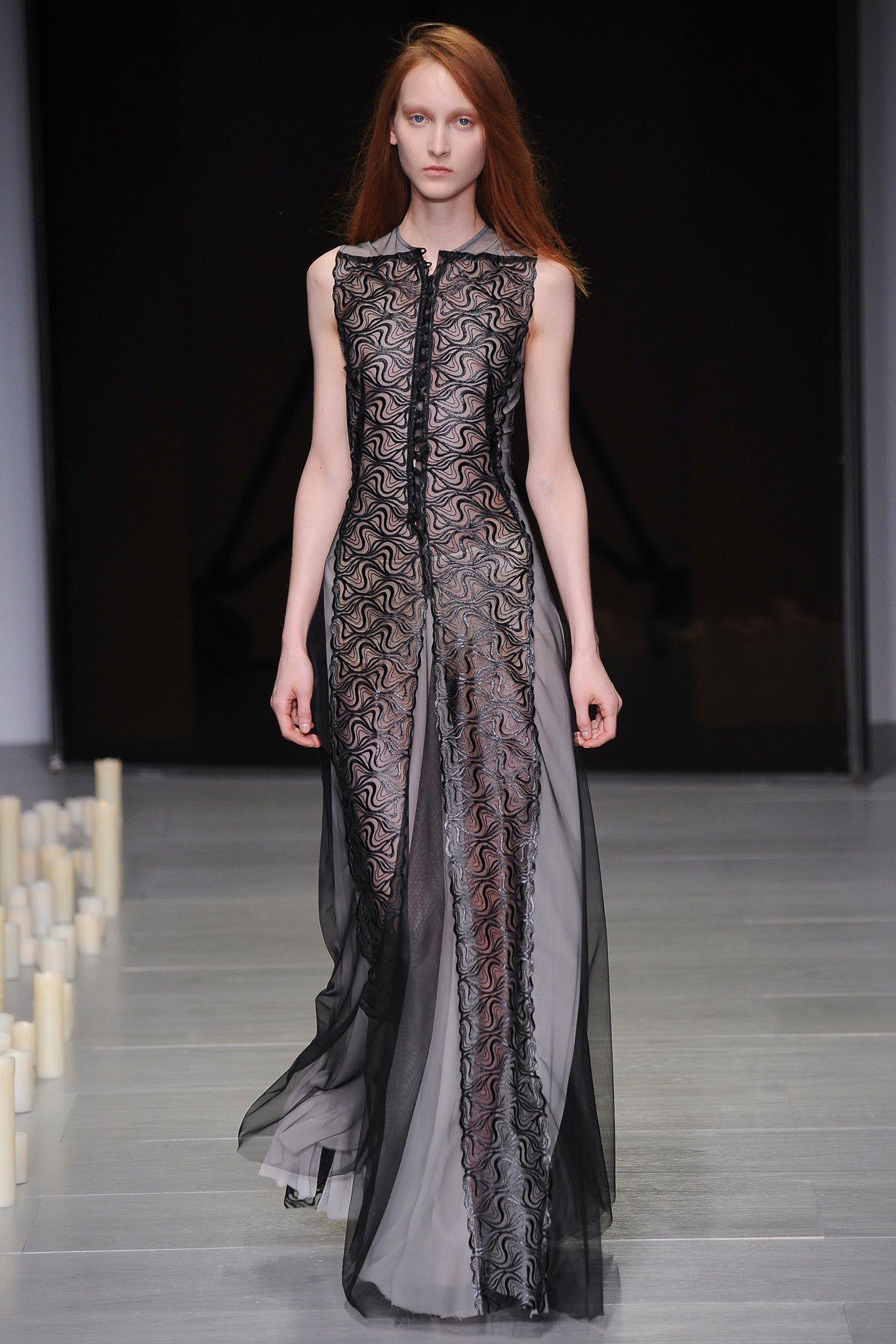 Marios Schwab Fall 2014 Ready-to-Wear Fashion Show - Nika Cole