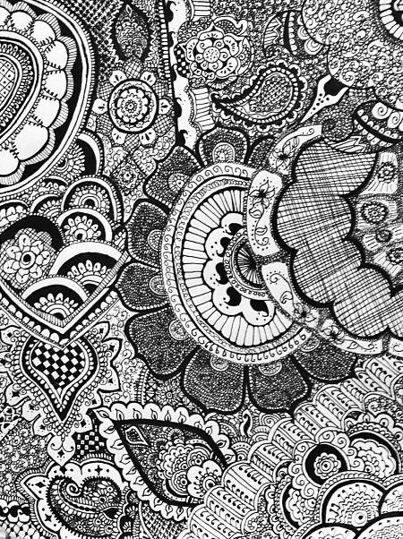 Mehndi Patterns On Paper : Henna designs on paper art stuff pinterest