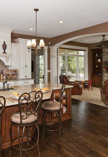 Designers Image Aspen Cottage Hickory Laminate Flooring with