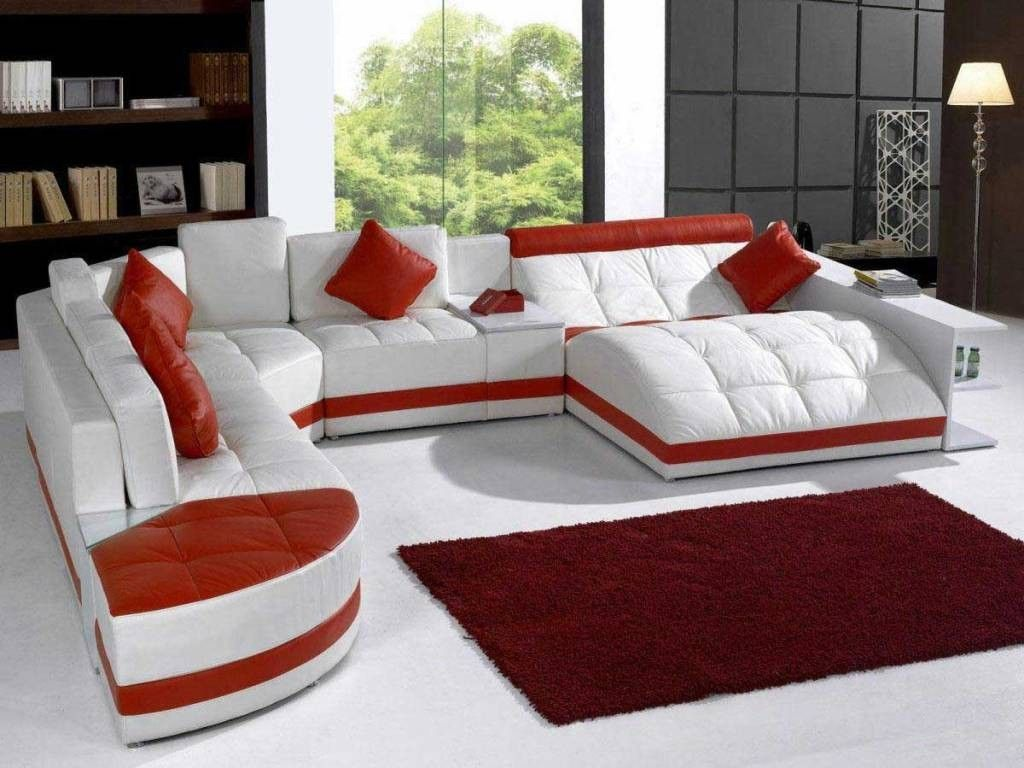 Unique Leather Furniture living room: inspiring idea for living room  decoration using black