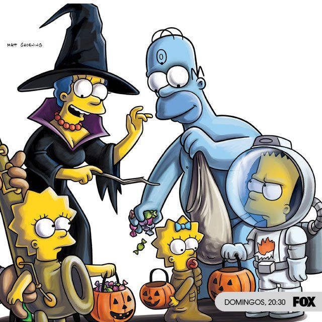 Simpson Halloween Simpsons Treehouse Of Horror Simpsons Halloween The Simpsons