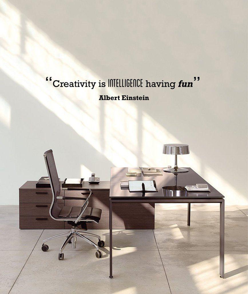 Creativity' Motivational Quote Wall Sticker