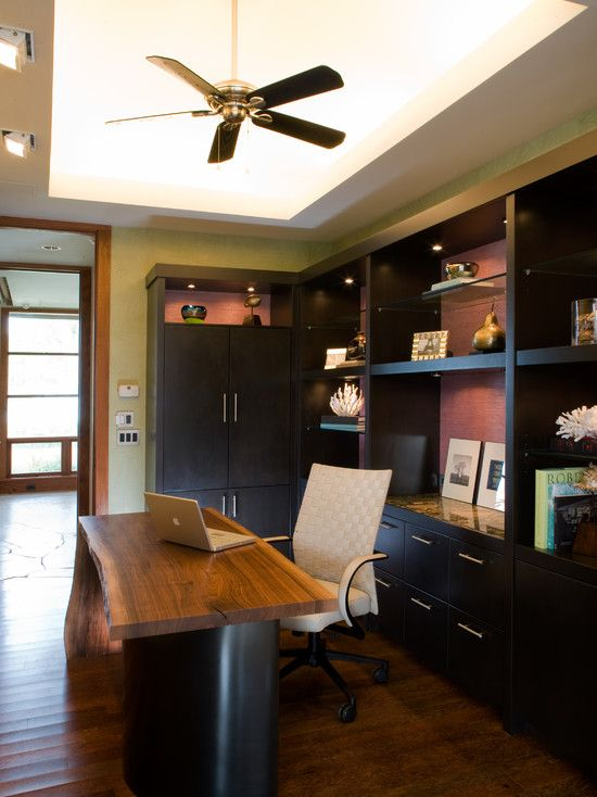 Amazing Residence Interior To Relaxing You Eclectic Home Office