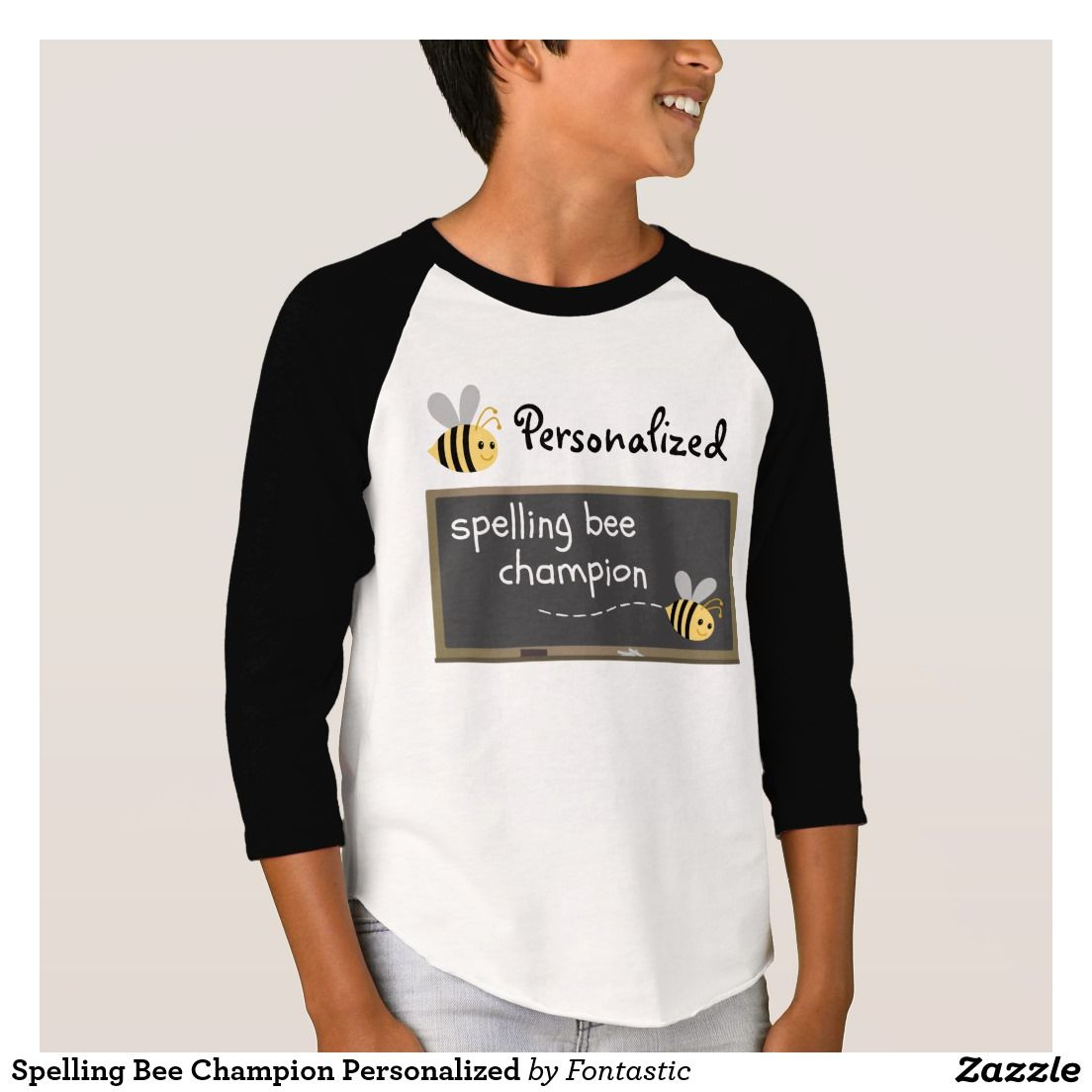 Design your own t shirt zazzle - Spelling Bee Champion Personalized T Shirt