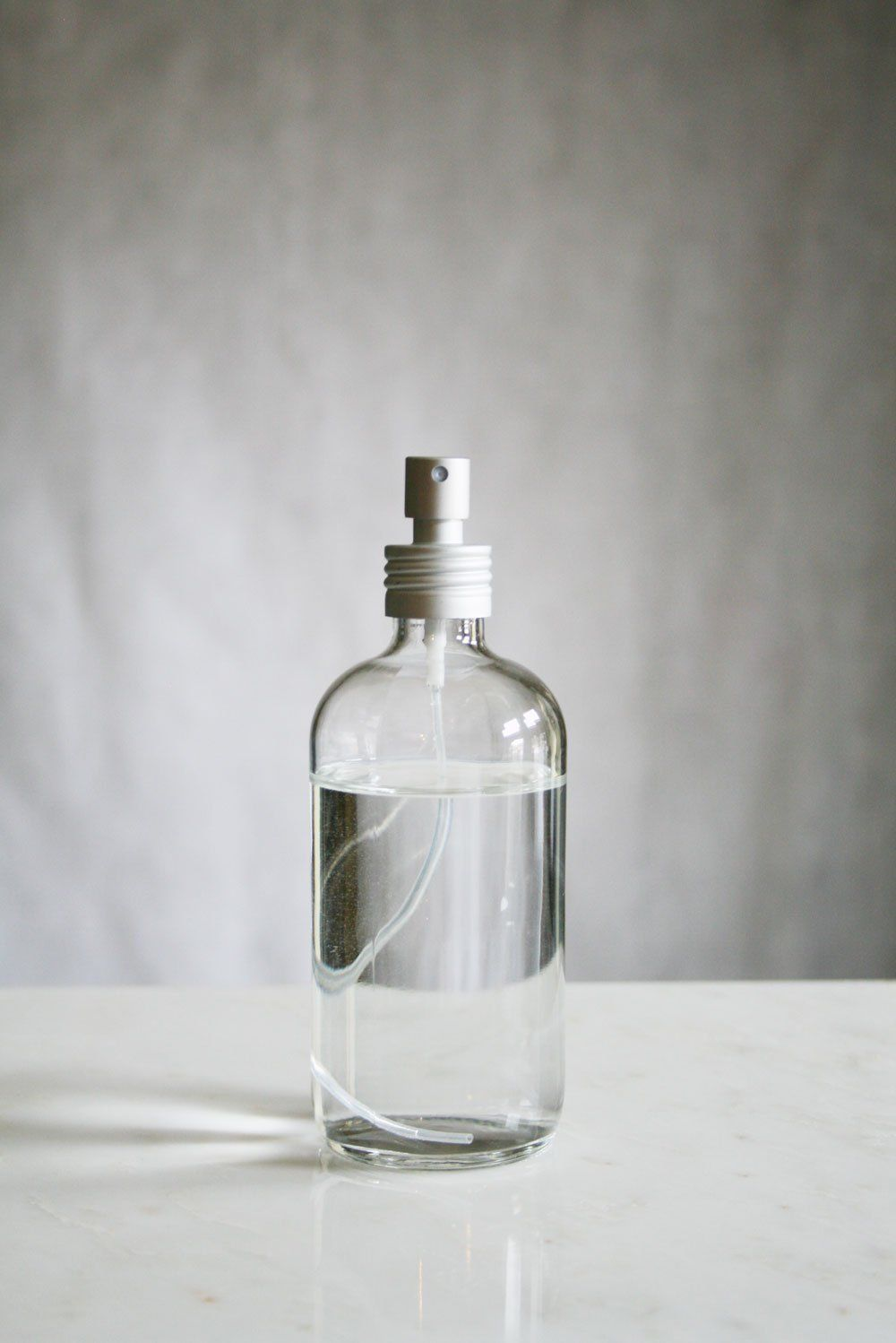 Apothecary Glass Mist Bottle with Aluminum Sprayer