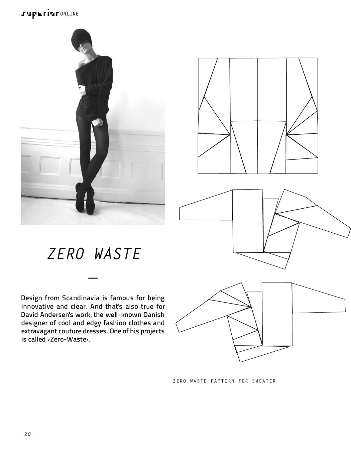 SUPERIOR ONLINE July 2012 | Sewing Zero Waste | Pinterest | Zero ...