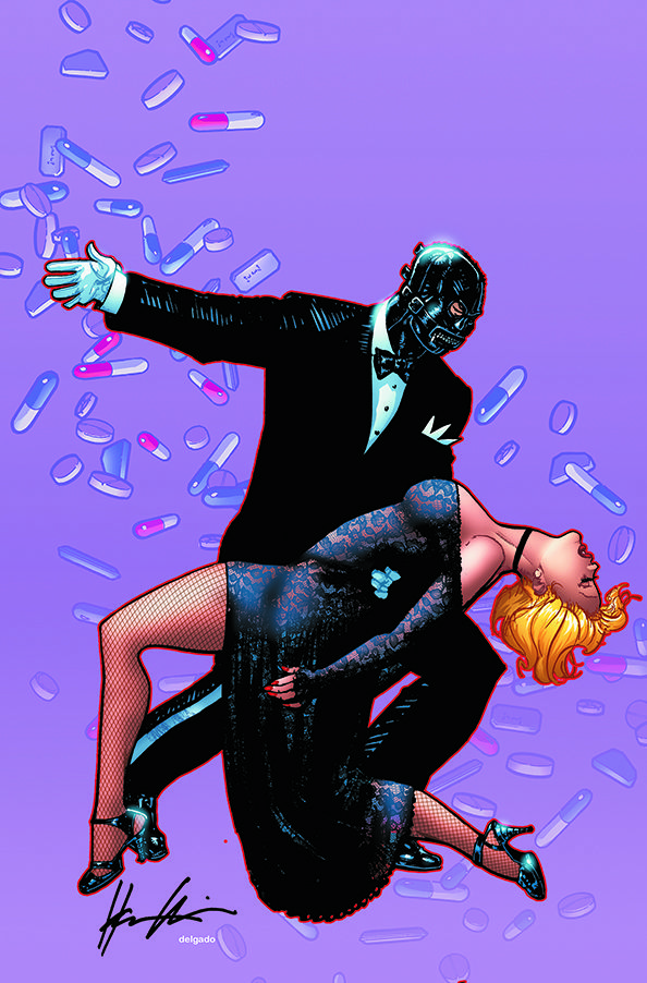 BANG! TANGO #4 Cover by Howard Chaykin