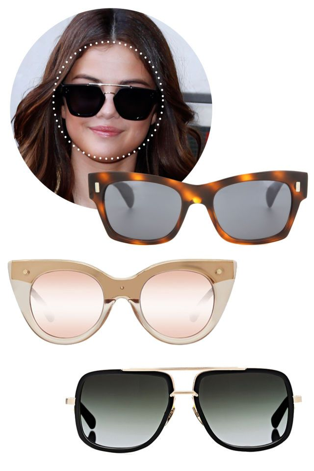43dc5514e78 Here s How to Find the Best Sunglasses for Your Face Shape.