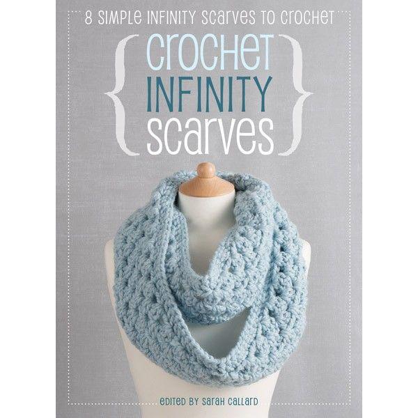 Crochet Infinity Scarves - | Pinterest | Tejido, Dos agujas y Puntos