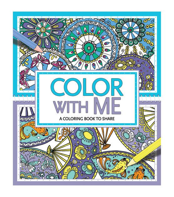 Color With Me Coloring Book Adult Color Coloring Books Books