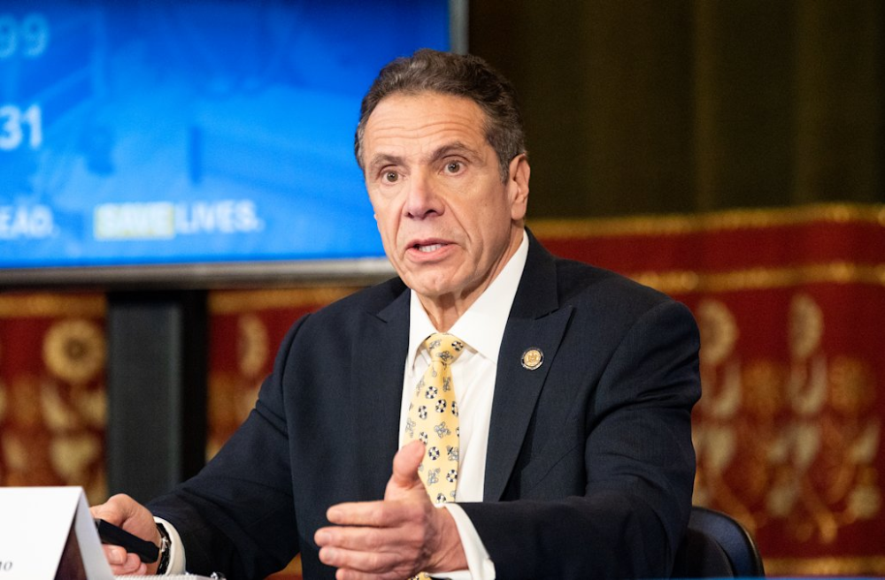 Cuomo Says Trump Is Not A King Can T Force States To Reopen Andrew Cuomo Morning Tv Shows Presidents In Order