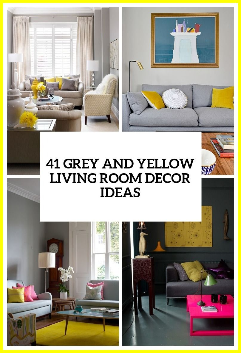 10 Best Yellow Accessories For Living Room