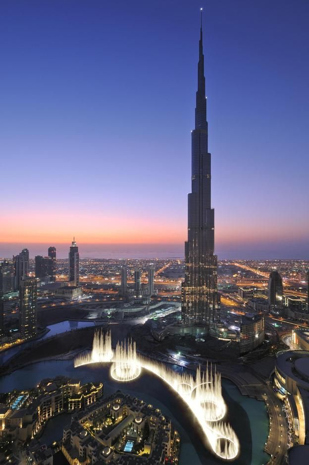 Burj Khalifa, tallest building in the world.