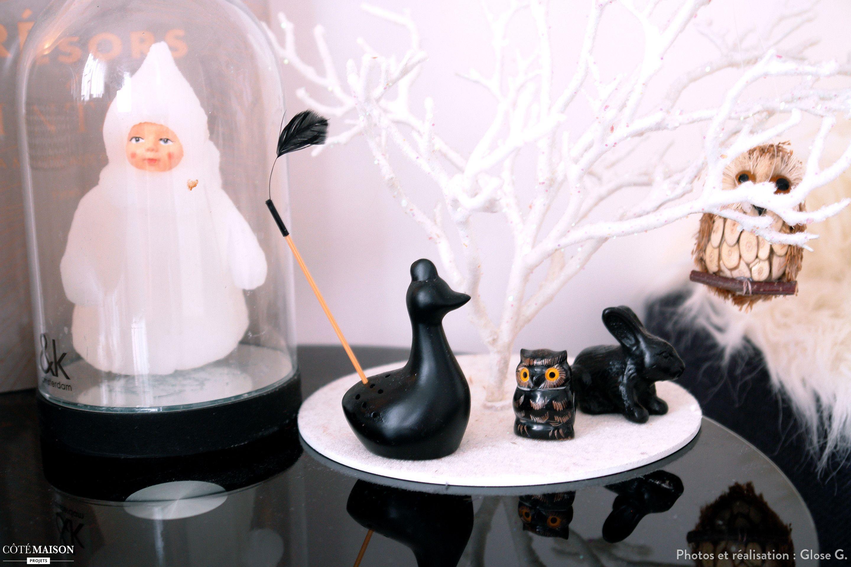 Des idées de décoration sur le thème de l'hiver.