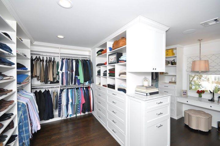 Angel Devoe Martin Affordable Closets Plus Tannen White Walk In Closet Project Description Th Master Closet Design Closet Remodel Closet Small Bedroom