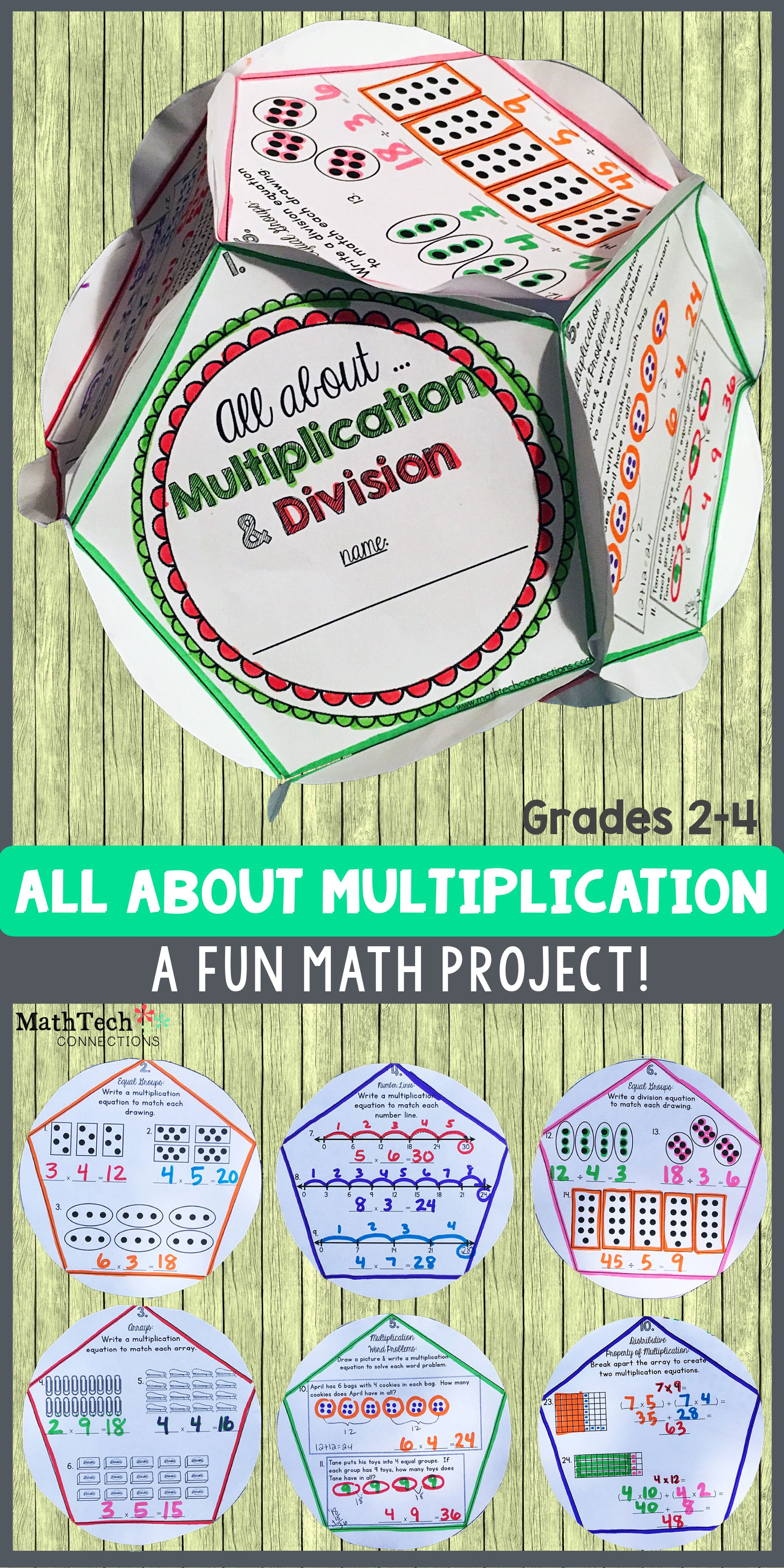 Multiplication & Division - Dodecahedron Project | Pinterest ...