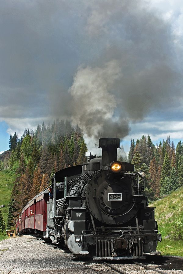 Cumbres and Toltec 488 by Zane Adams - Photo 110330099 - 500px