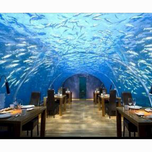 Ithaa Undersea Restuarant