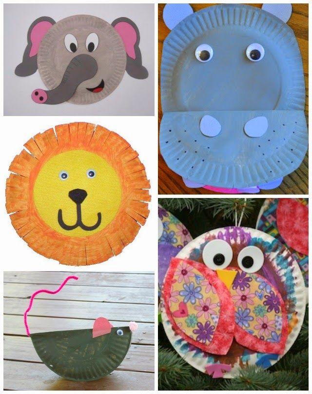 20 Fabulous Paper Plate Animal Crafts  sc 1 st  Pinterest & 20 Fabulous Paper Plate Animal Crafts   Paper plate animals Animal ...