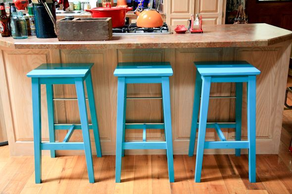 How To Sand And Paint Ikea Bosse Stools Make It Home