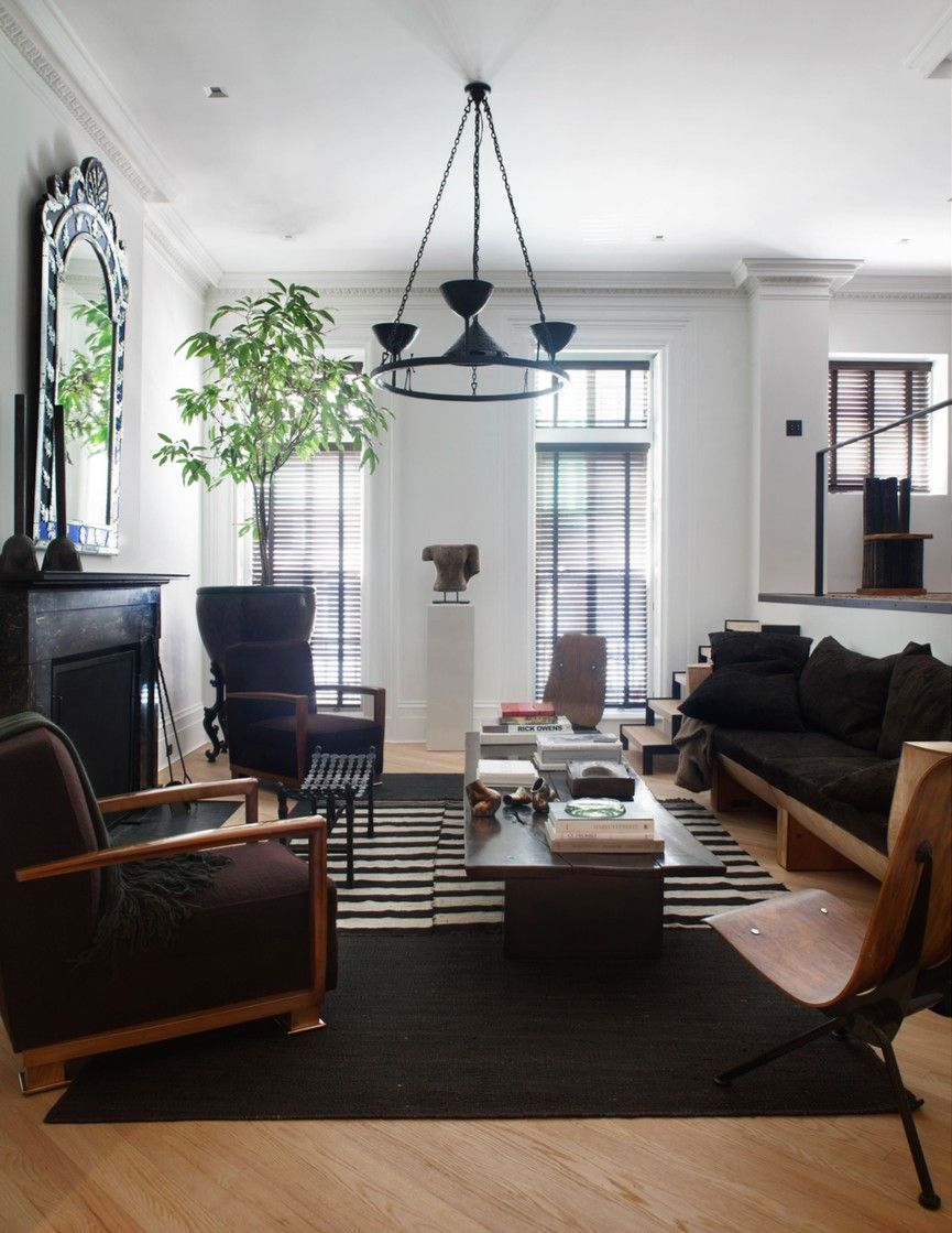 Warm Curated Nomadic Modern Livingroom Laidbackluxe Architecture