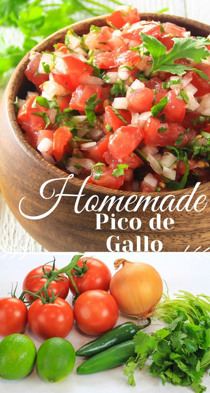Homemade Pico de Gallo Recipe - Simply Home Cooked