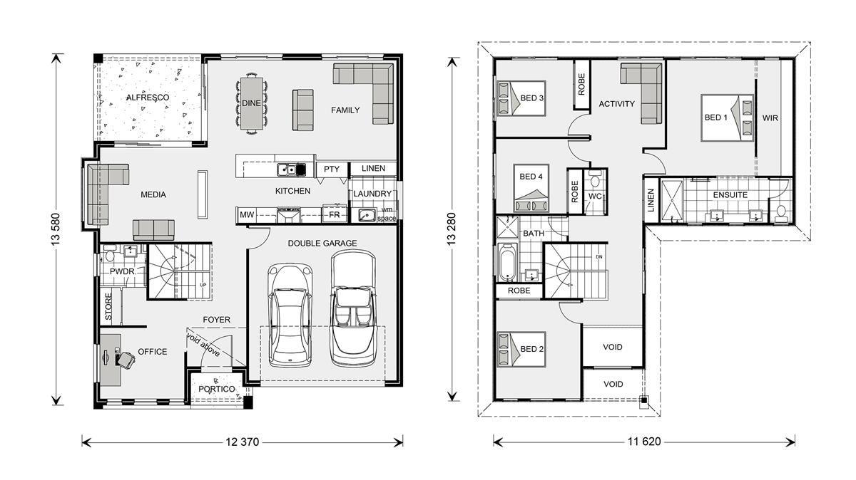 Blue Water 323   Element, Our Designs, Sunshine Coast South Builder, GJ  Gardner