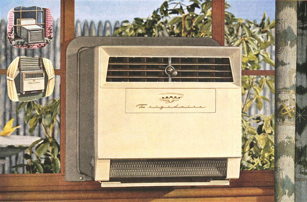 Frigidaire 1955 Casement Window Air Conditioner Casement Window Air Conditioner Casement Air Conditioner Window Air Conditioner Installation