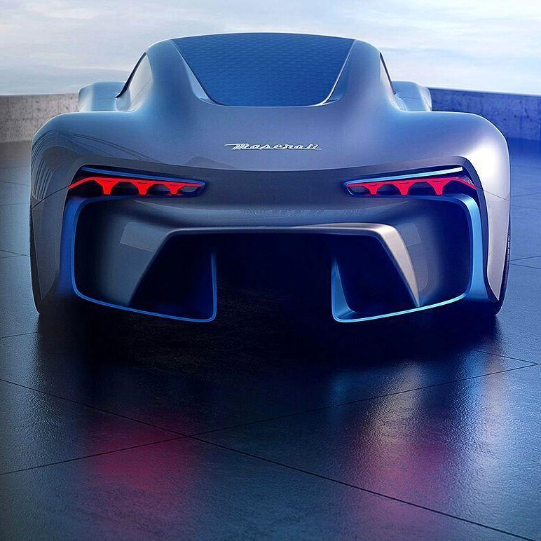Ferrari F9: Maserati Genesi Concept Designed By Sergey Dvornytskyy