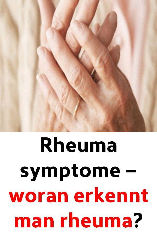 Rheuma Symptome - Woran erkennt man Rheuma? - Dailytips