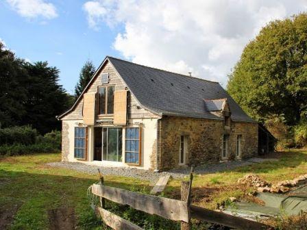 Maison autonome écologique bretagne à vendre