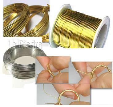 b4a0b69cdb03 alambre para bisuteria cual es el ideal para engarzar