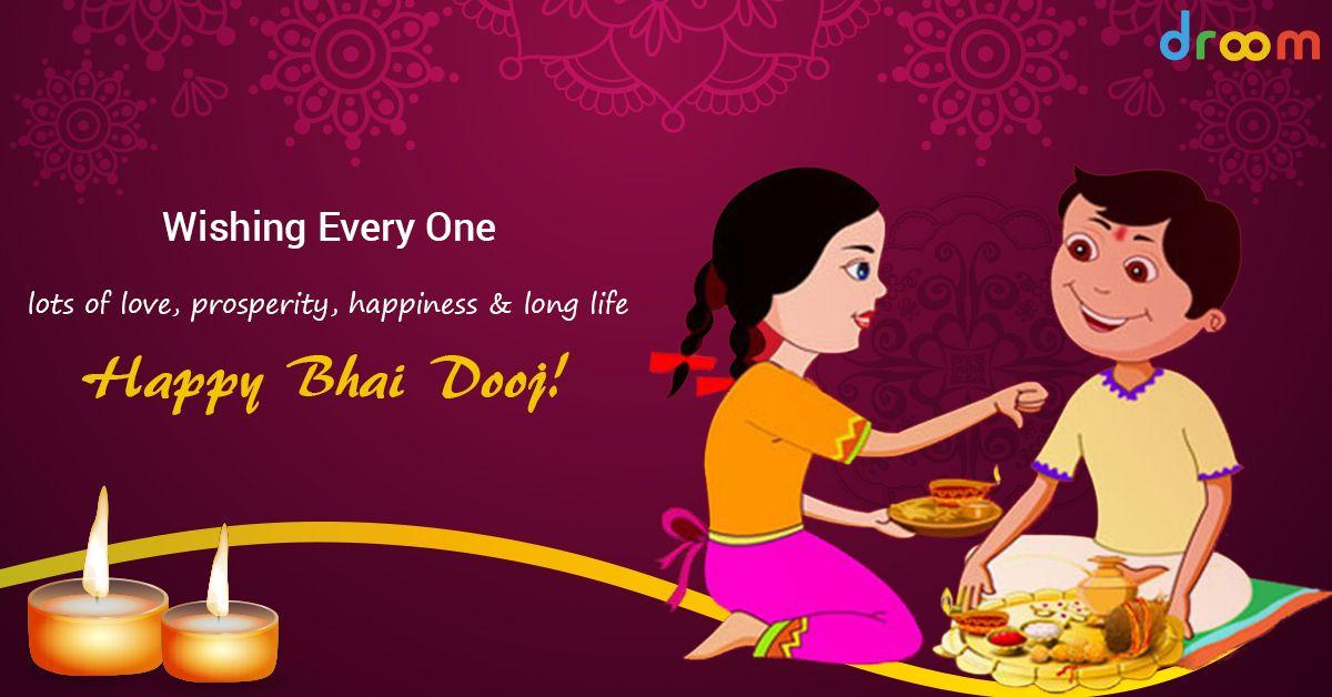 Droom wishes Everyone a Very Happy Bhai Dooj! Indian