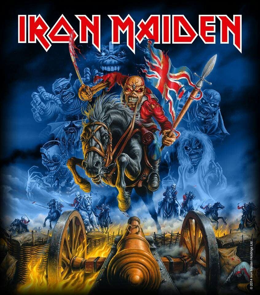 Iron Maiden montage.