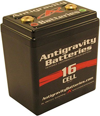 3. Antigravity Batteries - Lightweight Motorcycle Lithium Ion Battery