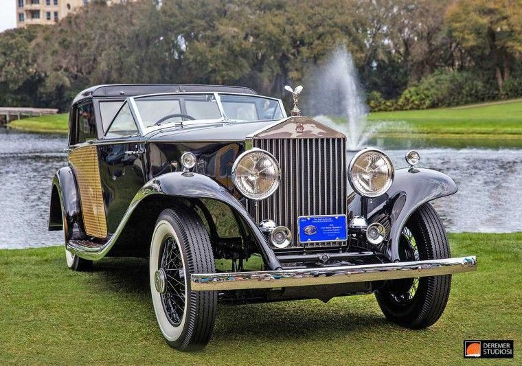 2016 Amelia Concours 1930 Rolls Royce Phantom Ii Sedanca De Ville By Brewster Rollsroyceclassiccars Classic Cars Old Classic Cars Cars And Coffee