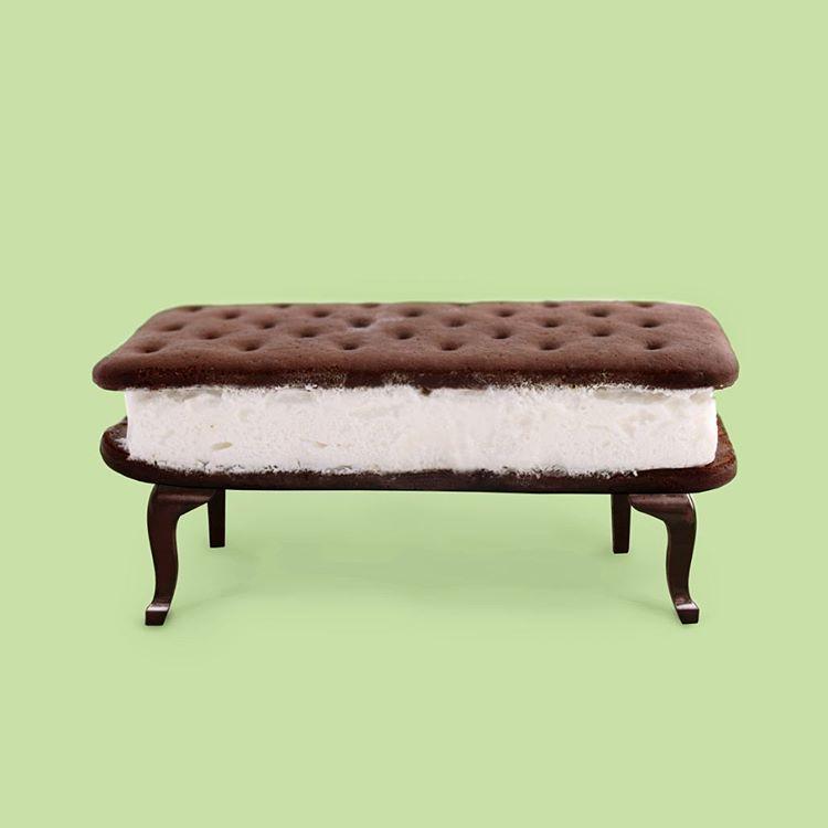 ice cream sandwich furniture. Paul Fuentes Design - Cookie Ice Cream Sandwich Furniture More O