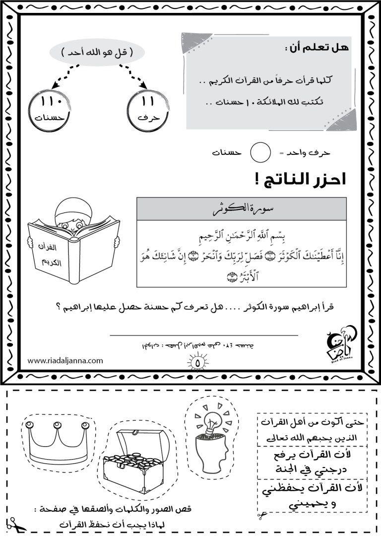مقدمة في تفسير القرآن للأطفال رياض الجنة Religie