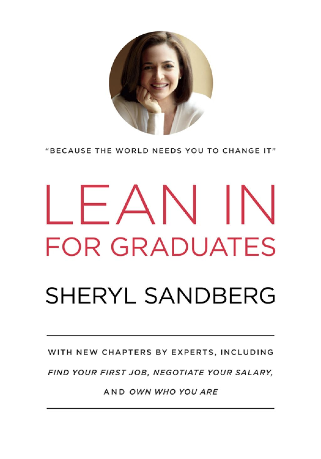 Lean In for Graduates (eBook) Sheryl sandberg, First job