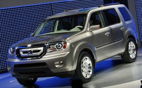 Honda Pilot Hybrid Tricked Out With Rims