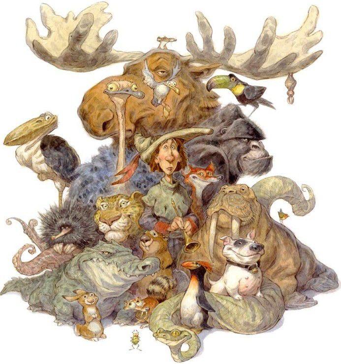 creatures of peter de seve