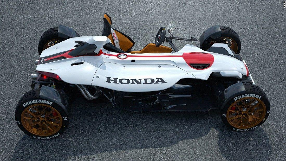 Honda\'s new motorcycle-race car hybrid | Honda s, Marc marquez and ...
