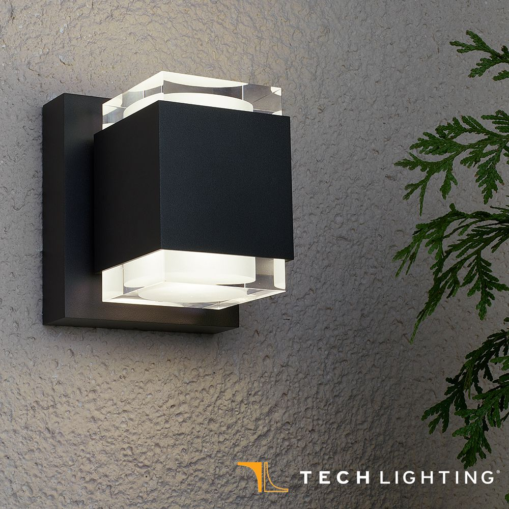 Tech lighting voto led outdoor wall sconce outdoor walls wall