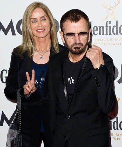 "Ringo & 2nd Wife Barbara Bach - (A One Time ""Bond Girl ..."