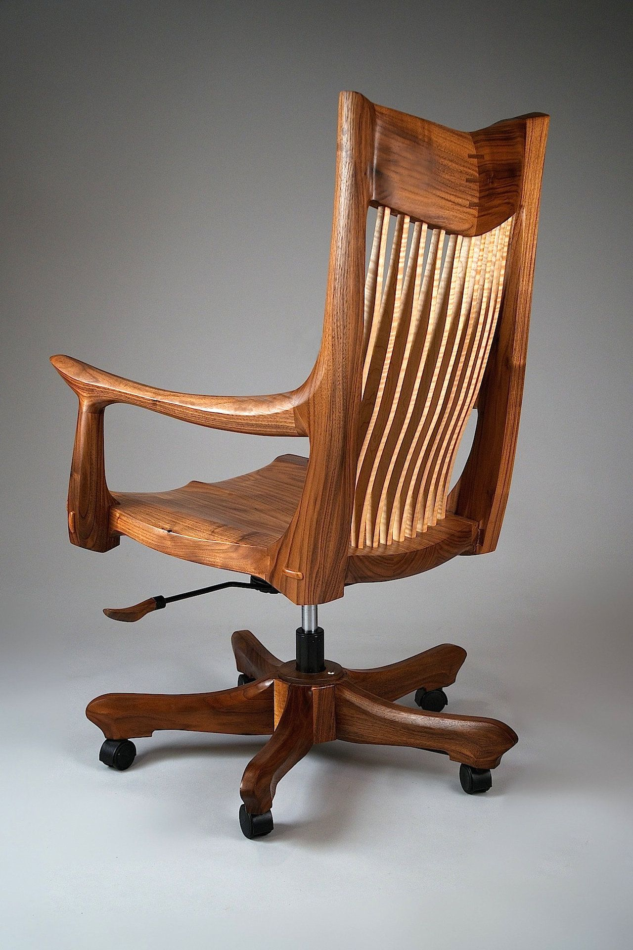 Franklin Swivel Desk Chair by Richard Laufer While useful to