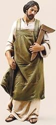 Saint Joseph the Worker Statue - 10 inch  (15509) $26.00