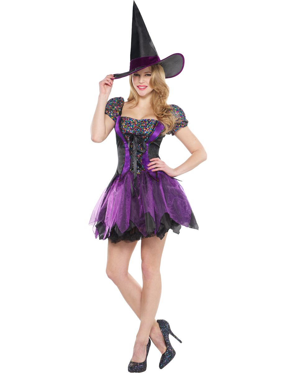 Sequin Witch Adult Women's Costume exclusively at Spirit Halloween ...