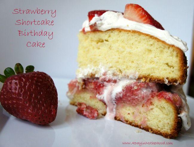 Strawberry Shortcake Birthday Cake Recipe 50 Gift Card Giveaway